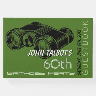 Binoculars 60th Birthday Party Guest Book