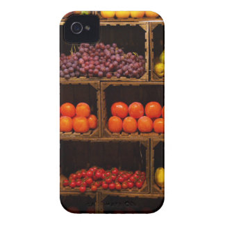 Bins of Fruits and Vegetables iPhone 4 Case-Mate Case