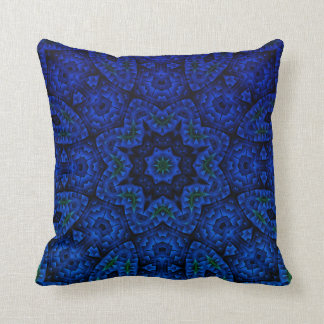 Bintu-Chirag-Justin-Yak Midnight Mandala Pillow