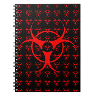 Bio-hazard Notebook Biohazard Sketch Pad Journal