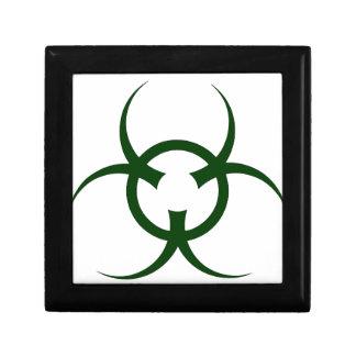 Bio Hazard Symbol Small Square Gift Box