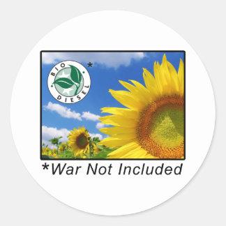 BioDiesel Classic Round Sticker