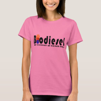 Biodiesel the essence of french fries t-shirt