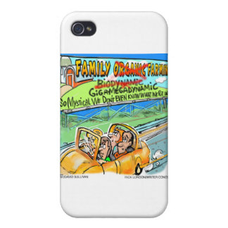 Biodynamic Farm? Funny Gifts Cards Mugs Etc iPhone 4 Cover