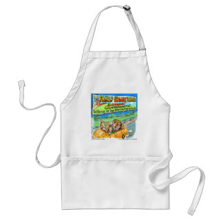 Biodynamic Farm? Funny Gifts Tees Cards Mugs Etc Adult Apron
