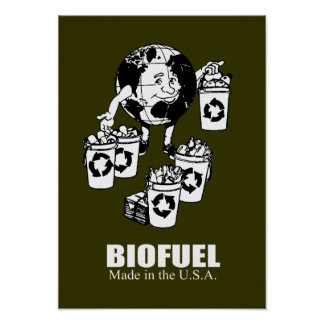 Biofuel - Made in the USA Poster