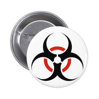 Biohazard 6 Cm Round Badge