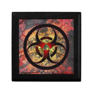 Biohazard Art Design Small Square Gift Box