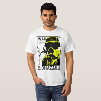 BioHazard BSL4 - Yellow poster T-Shirt