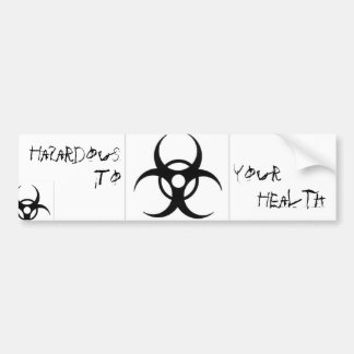 BioHazard Bumpter Sticker