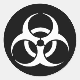 Biohazard Classic Round Sticker