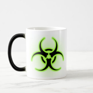 Biohazard Coffee Magic Mug