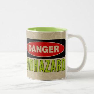 Biohazard   Danger Sign Mug