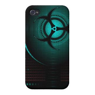 Biohazard dangerous zombie cool art iphone case de iPhone 4 case