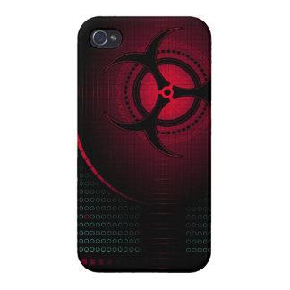 Biohazard dangerous zombie cool art iphone case de iPhone 4 cover