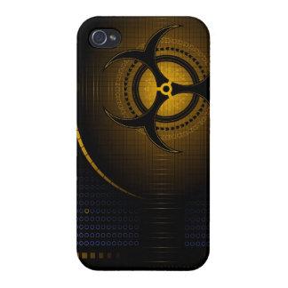 Biohazard dangerous zombie cool art iphone case de covers for iPhone 4