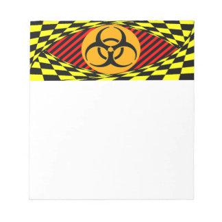 Biohazard Design by Kenneth Yoncich Notepad