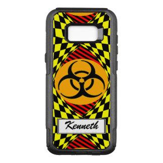 Biohazard Design by Kenneth Yoncich OtterBox Commuter Samsung Galaxy S8+ Case