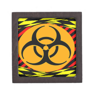 Biohazard Design by Kenneth Yoncich Premium Jewelry Boxes