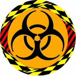 Biohazard Design Photo Sculpture Key Ring