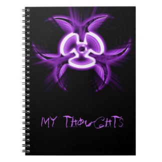 Biohazard Diary Notebook
