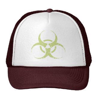 Biohazard -dist -green hat