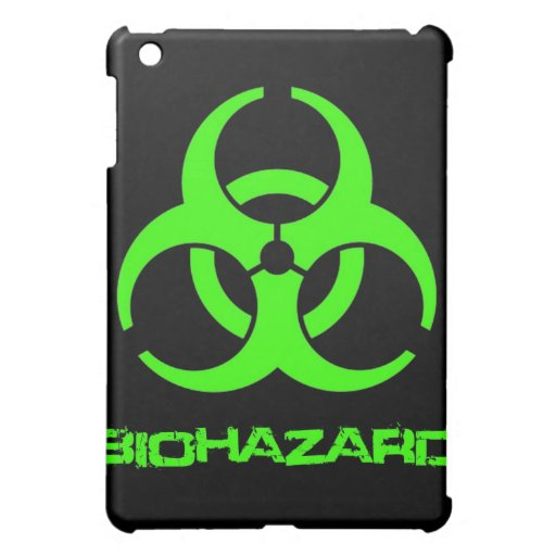 Biohazard iPad Case