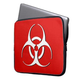 Biohazard Laptop Sleeve - Classic Bone, Ash, Blood