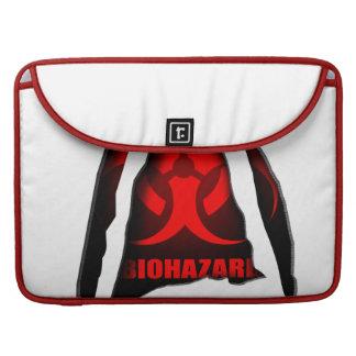 Biohazard Macbook Sleeves