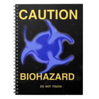 Biohazard Notebook