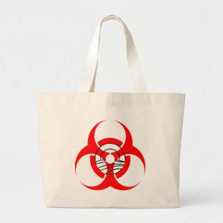 Biohazard Obama Tote Bags