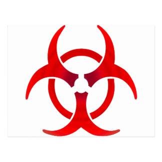 Biohazard - RED Postcard