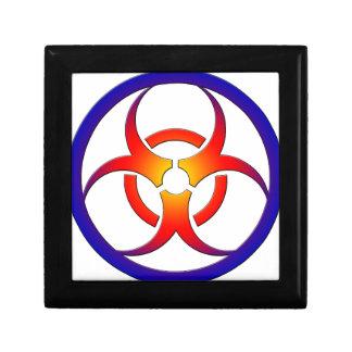 Biohazard Small Square Gift Box