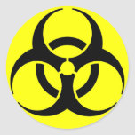 Biohazard! Sticker