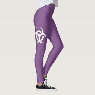 Biohazard Symbol Leggings