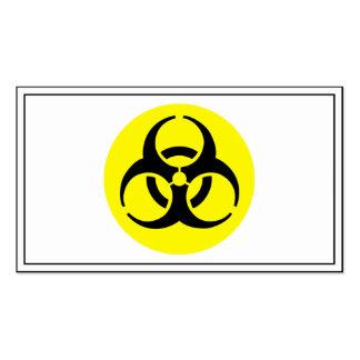 BioHazard Symbol Pack Of Standard Business Cards