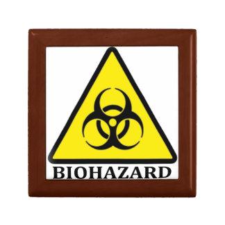 BioHazard Symbol Small Square Gift Box