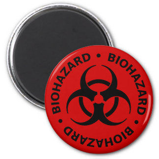 Biohazard Warning Magnet