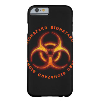 Biohazard Zombie Warning Barely There iPhone 6 Case