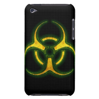 Biohazard Zombie Warning Barely There iPod Covers