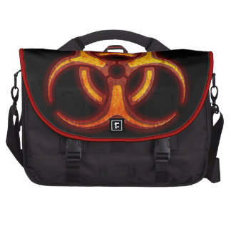 Biohazard Zombie Warning Laptop Bags