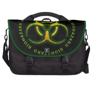 Biohazard Zombie Warning Bag For Laptop