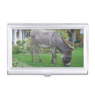 Biological Lawn-Mower On Four Hooves Business Card Holders