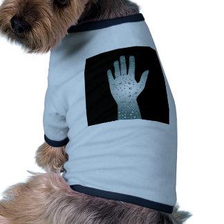 Biological Technology Healthcare Hand Dog T Shirt
