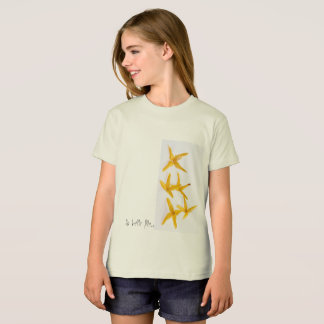 Biological tee-shirt for girl of American Appare T-Shirt