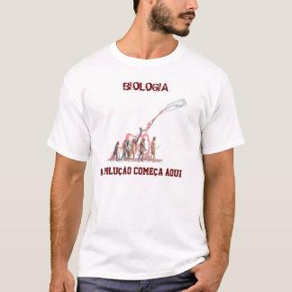 Biology, BIOLOGY, the evolution starts here T-Shirt