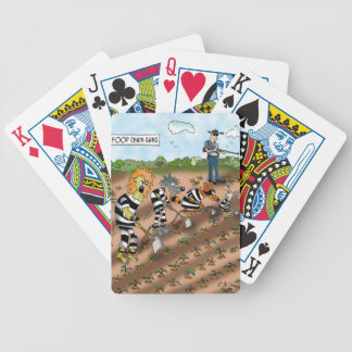 Biology Cartoon 9377 Bicycle Playing Cards
