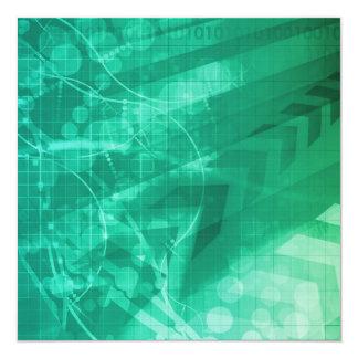 Biology Cells and Modern Medical Technology as Art Card