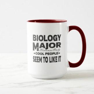 Biology College Major Cool People Mug