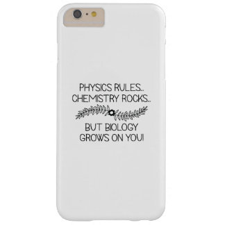 Biology Grows On You Barely There iPhone 6 Plus Case